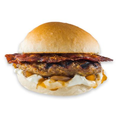 Onion Bacon Burger - Funky Burgers | Funky Burger